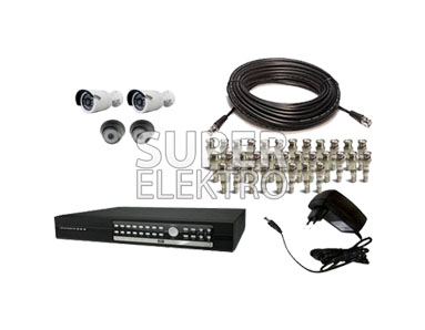 4 Camera CCTV SPC Full Infrared + DVR Rekam