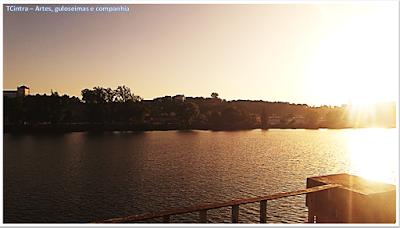 viagem Portugal; Conhecendo a Europa; viajando sem guia; Pôr-do-sol em Coimbra