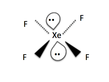 A2 chemistry chapter 14 redox equations aqa nelson thornes 142 c the shape of the molecule xef4 is shown below ccuart Images