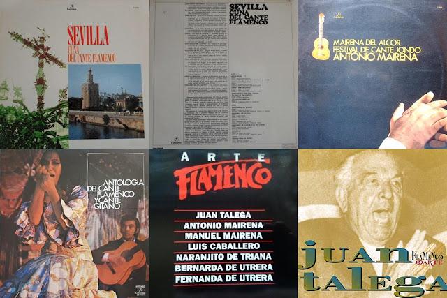 JUAN TALEGA REEDICIONES Y RECOPILARIOS DE CANTES YA EDITADOS