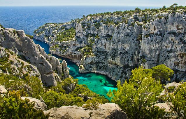 Calanques de Marseille En Vau Marsilia Franta