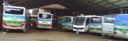 bus budiman jurusan Pangandaran-Yogyakarta