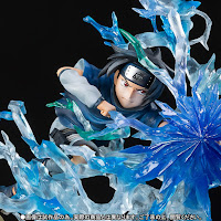 Dettagli del viso di Sasuke