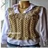 Chaleco corto tricot