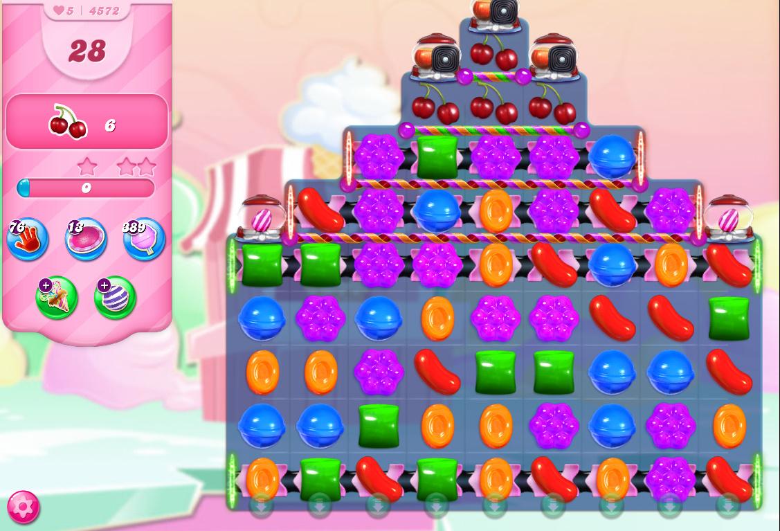 Candy Crush Saga level 4572