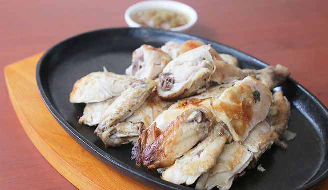 Salted Baked Chicken