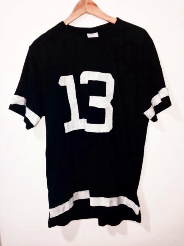 229efb5030 DIY  Camiseta Futebol Americano - Yuli Balzak