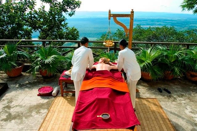 Abhyanga, Anada Spa Resort, Rishikesh