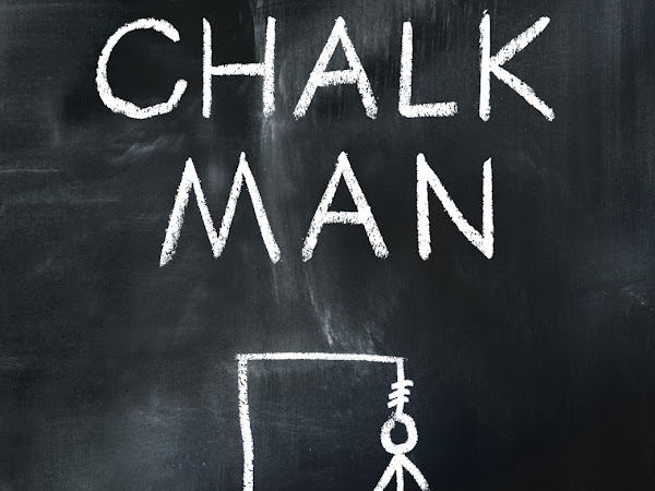The chalk man by C.J. Tudor/ best thrillers of 2018