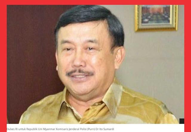 Keterangan lengkap dan Sudut Pandang  Dubes Indonesia di Myanmar