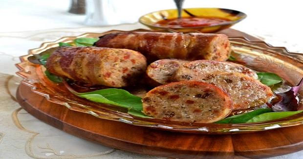 Bacon Wrapped Embutido