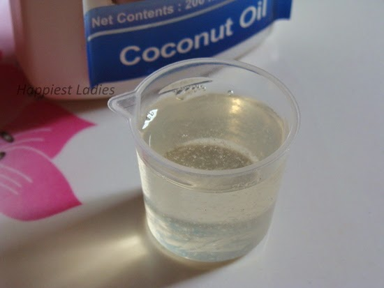 coconut oil i