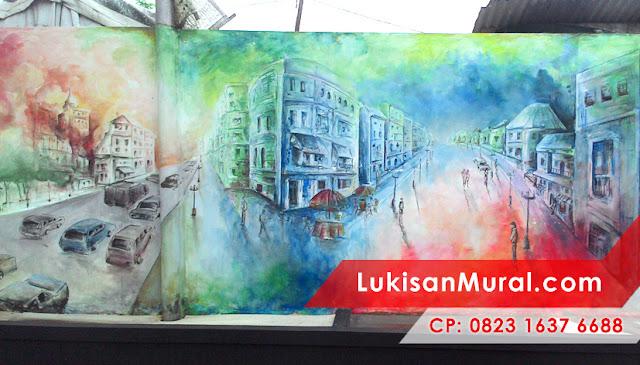 Jasa Lukis Dinding Surabaya