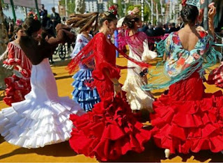 La Feria de Abril in Seville, Spain