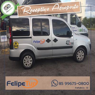 Transfer do aeroporto de Fortaleza para hotéis em flecheiras no Trairi
