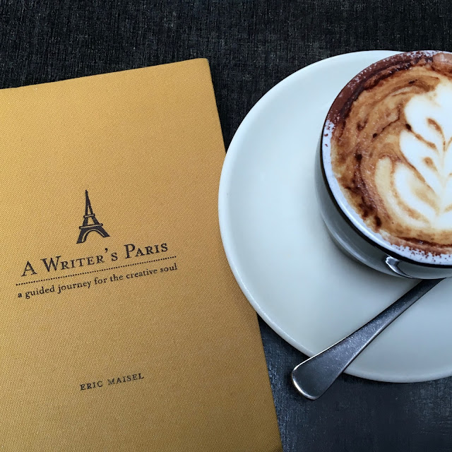 Image of book A Writer in Paris by Eric Maisel from Capturing Paris blog