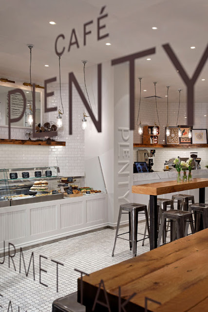 Corner Bakery Tiles : Café plenty the deco soul