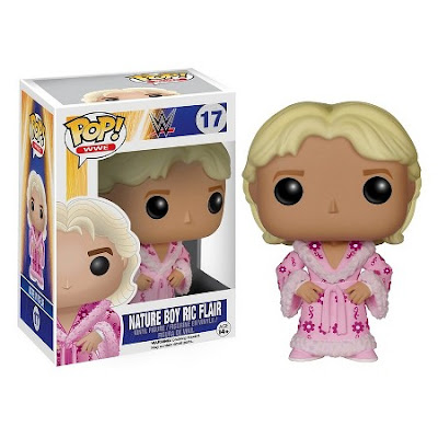 "Target Exclusive ""Pink Robe"" Edition Ric Flair WWE Pop! Vinyl Figure by Funko"