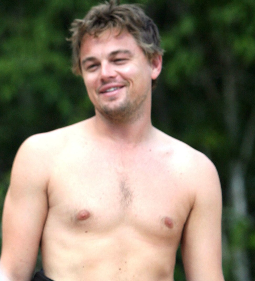Leonardo DiCaprio Work... P90x Chest
