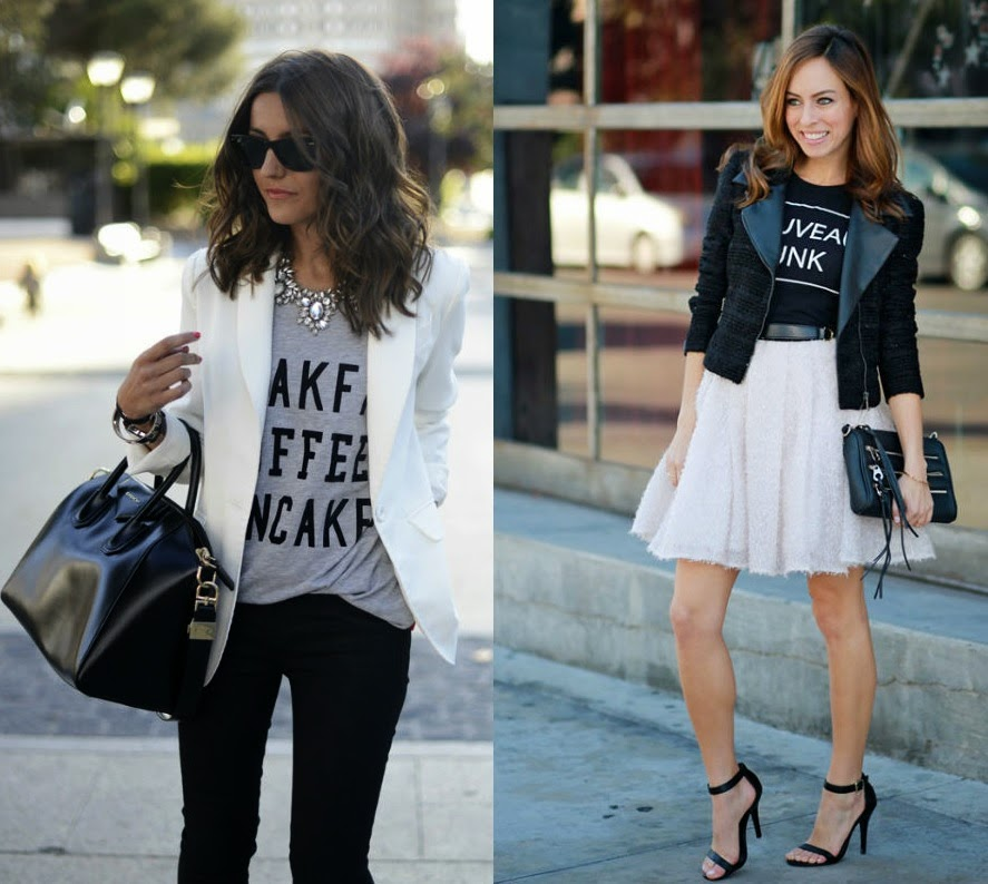 ecf5d862 How to Style a Graphic Tee and Still Look On Point - College Gloss