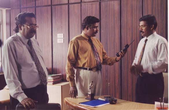Ratheesh Malayalam actor in a scene.