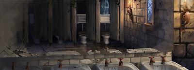 Il bagno di Mirtilla Malcontenta (Momento 2)