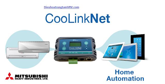 Hệ thống Điều hòa trung tâm Mitsubishi được tích hợp công nghệ Coolinknet