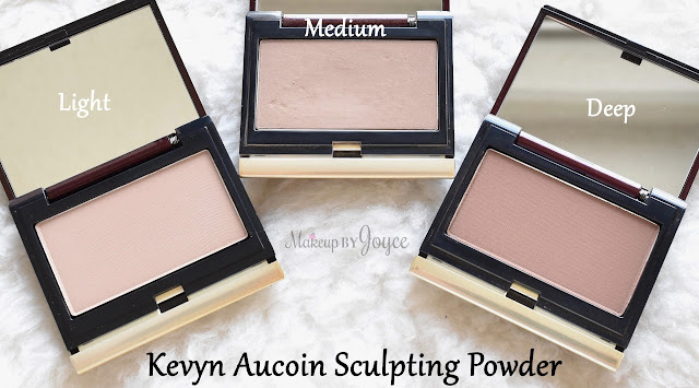 Kevyn Aucoin The Sculpting Powder in Light Deep Review Swatches