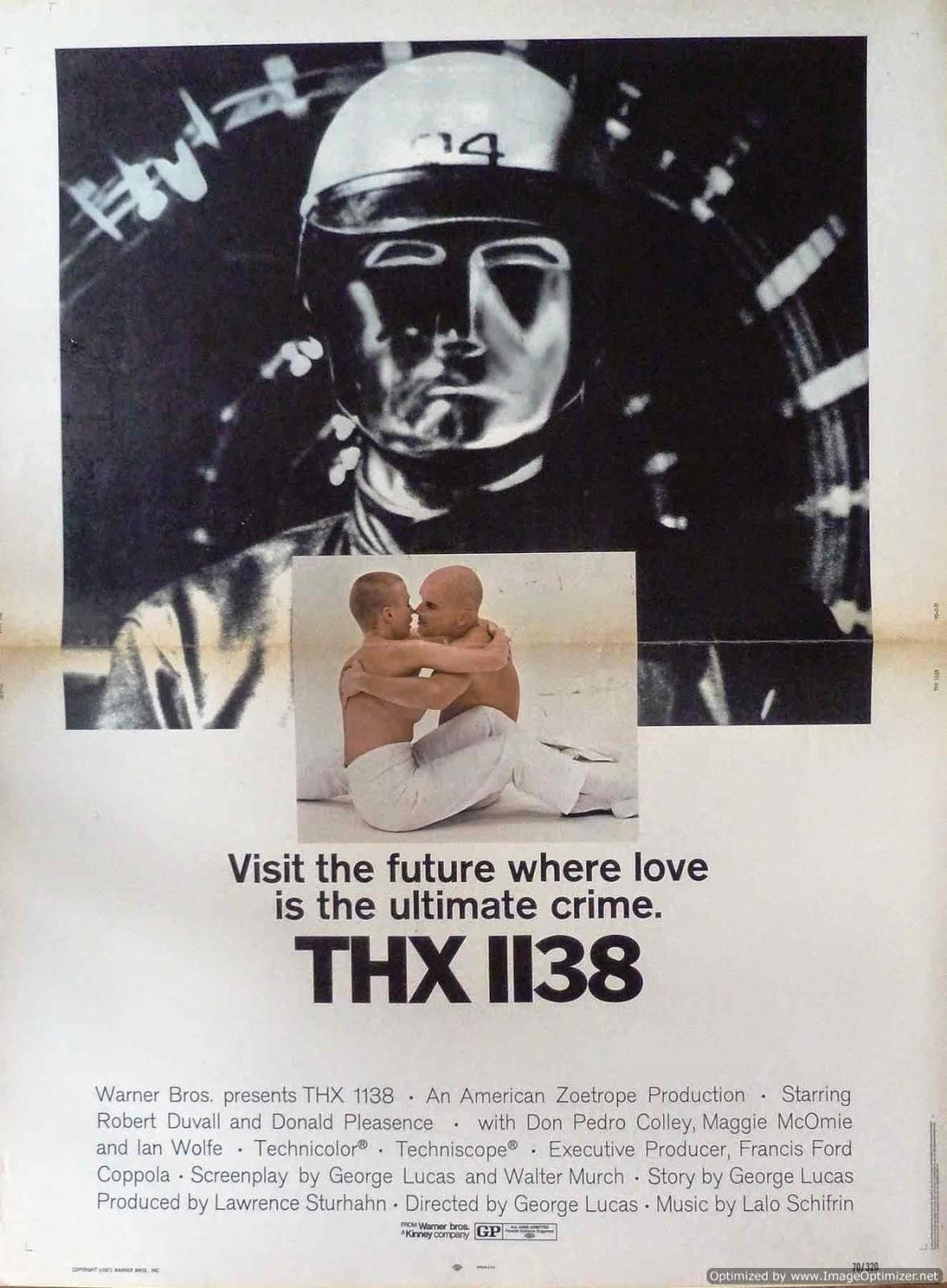 THX 1138 en el fancine