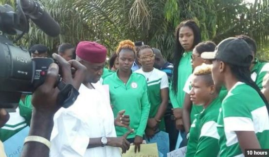 Buhari orders Finance Ministry to pay Falcons immediately