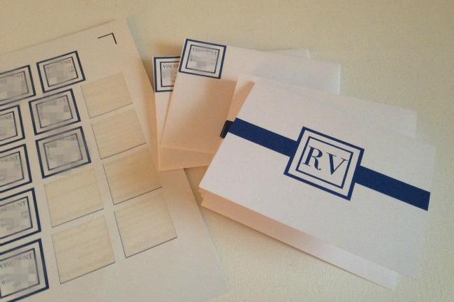 Silhouette Studio, free cut file, monogram thank you card, DIY, do it yourself