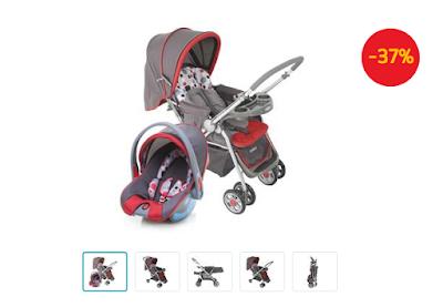 carrinho para bebê site do Extra.com.br