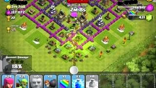 Jenis-Jenis Spell Factory Clash of Clans
