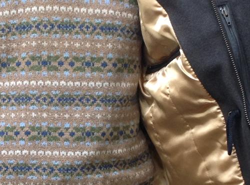 1805 Fabric Cafe Jacket embelishment