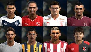 Facepack Liga Argentina v3 2016 Pes 2013 By Ler