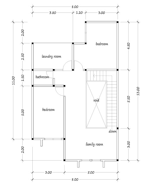 small house plan 11
