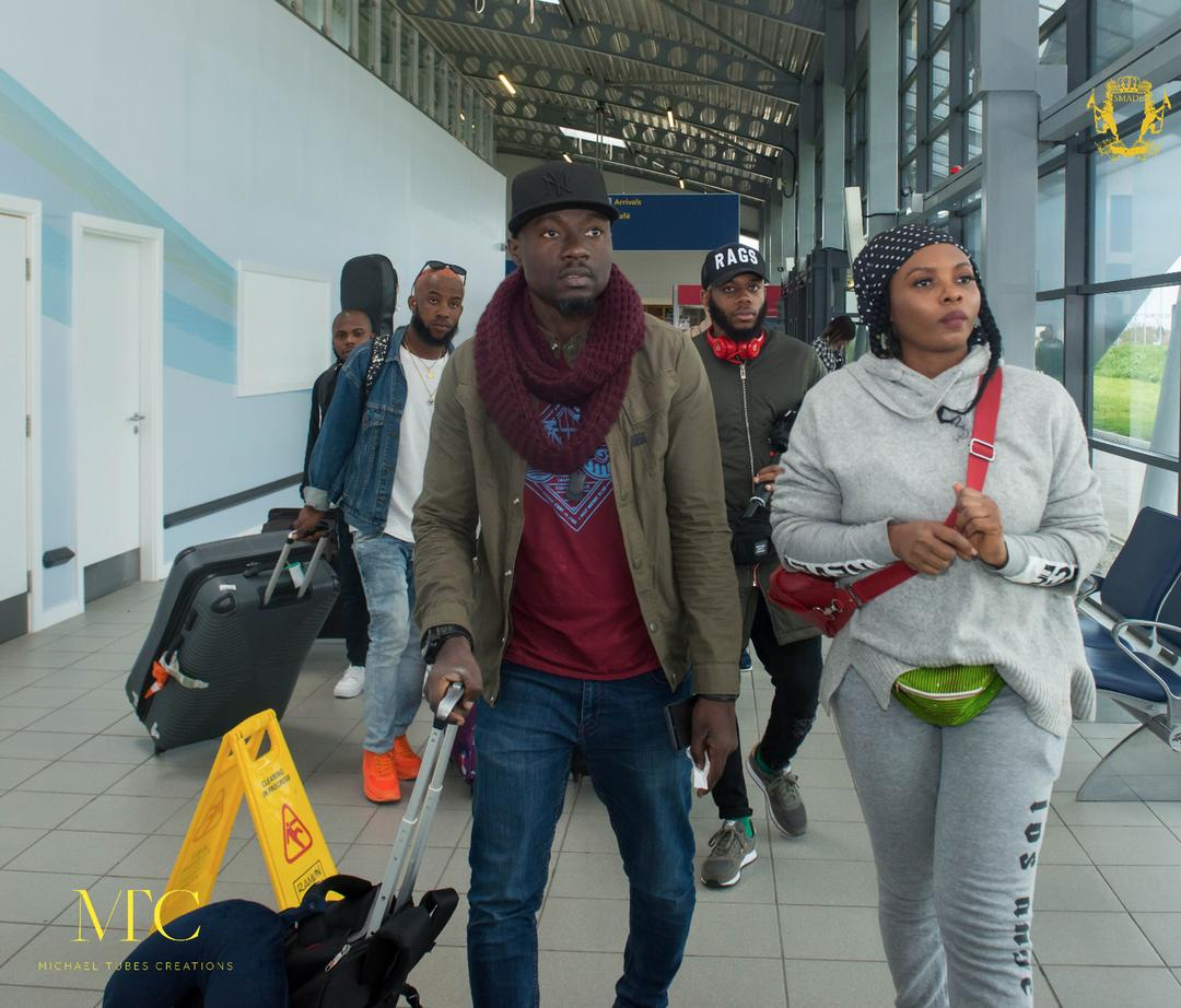 Yemi Alade Arrives In The UK For Her Black Magic Tour
