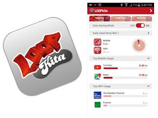 Aplikasi LOOPkita di Smartphone