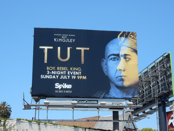 Tut TV miniseries bilboard