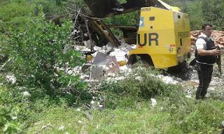 Assaltantes explodem carro-forte em rodovia estadual da Paraíba
