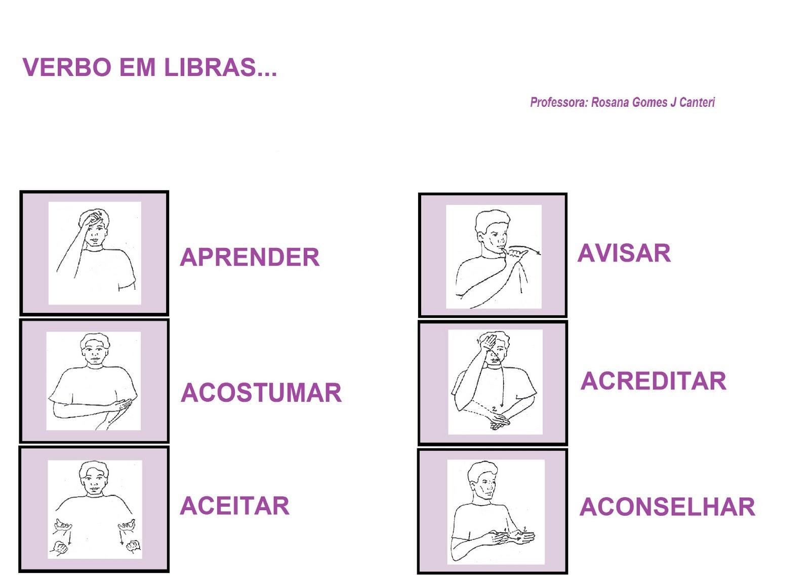 curso de Língua Portuguesa para Surdos. Confiram . #8C3F8C 1600 1144