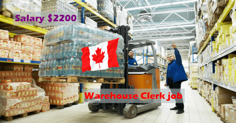 warehouse clerk job in canada linjob. Black Bedroom Furniture Sets. Home Design Ideas