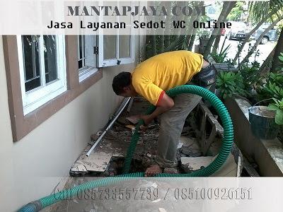Jasa Tinja dan Sedot WC Dupak Rukun Surabaya