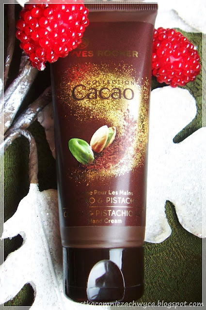 Yves Rocher, Collection Cacao, Krem do rąk Czekolada i Pistacja