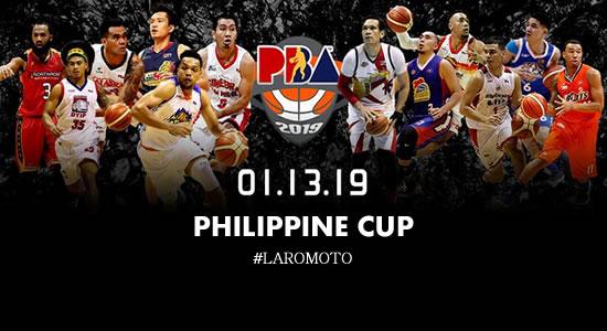 LIST: 2019 PBA Philippine Cup Elimination Round Game Schedule