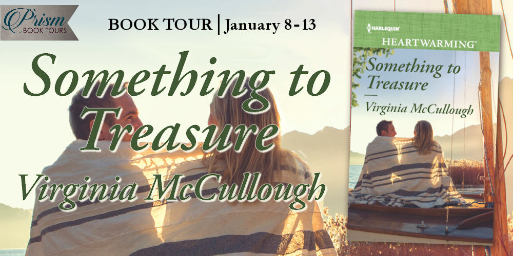 It's the Grand Finale for SOMETHING TO TREASURE by VIRGINIA MCCULLOUGH!