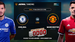 chelsea vs manchester united final fa cup 19 mei 2018