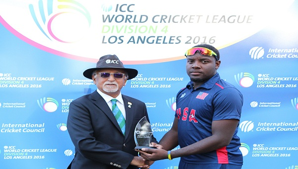 USA beat Oman by 8 wickets in WCL 2016