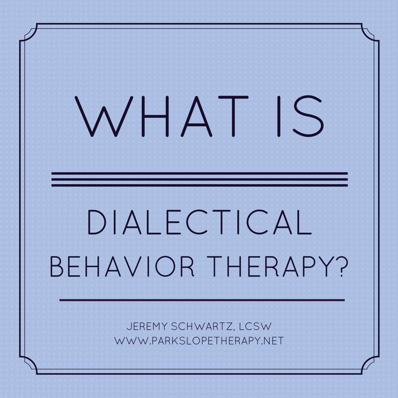 DBT Therapist, Park Slope, Brooklyn, NYC