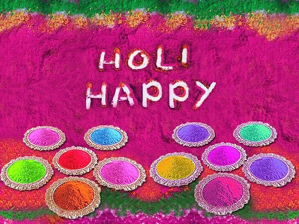 Happy Colorful Holi 2017 Text Messages Wishes Sayings